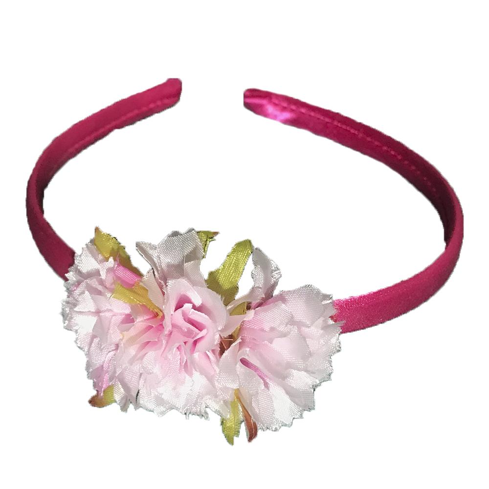 Diadema flamenca flores niña