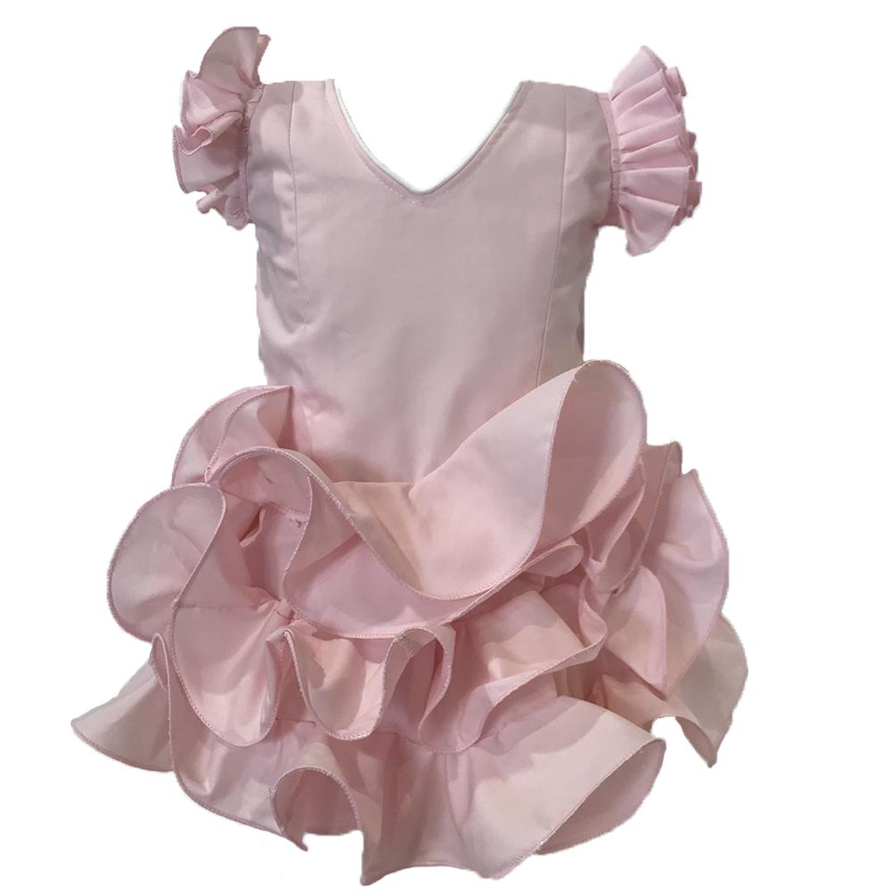 Vestido de flamenca de niña