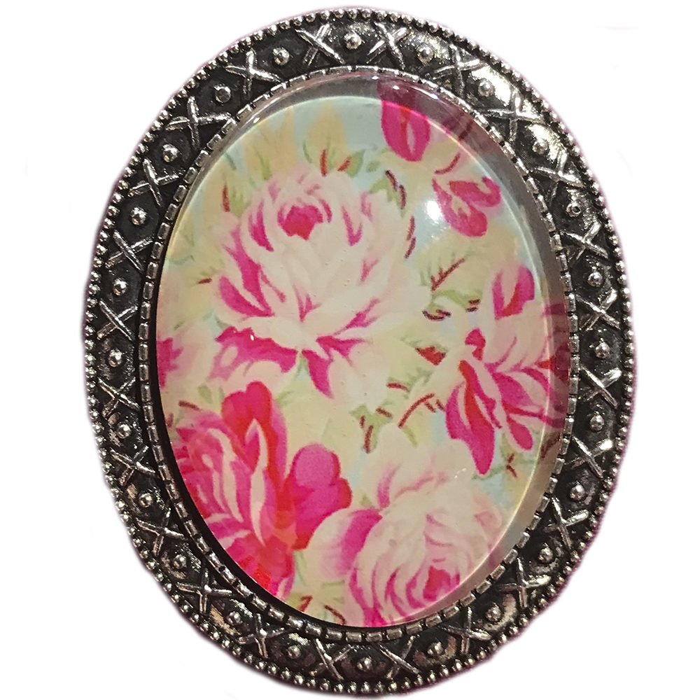 broche con alfiler